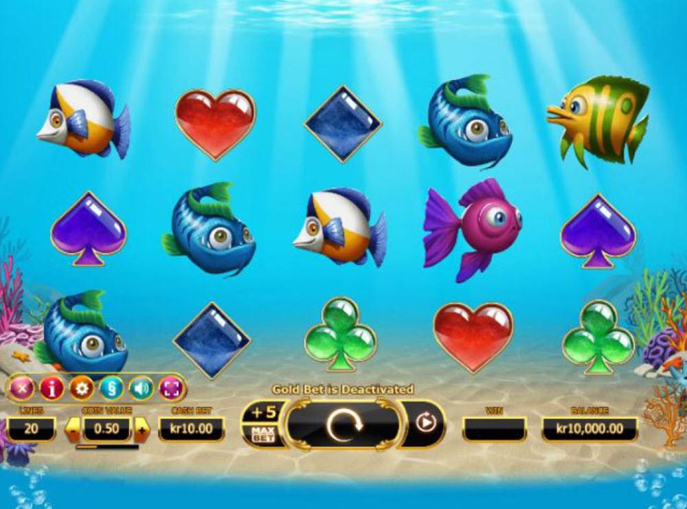 golden fish tank spelautomat